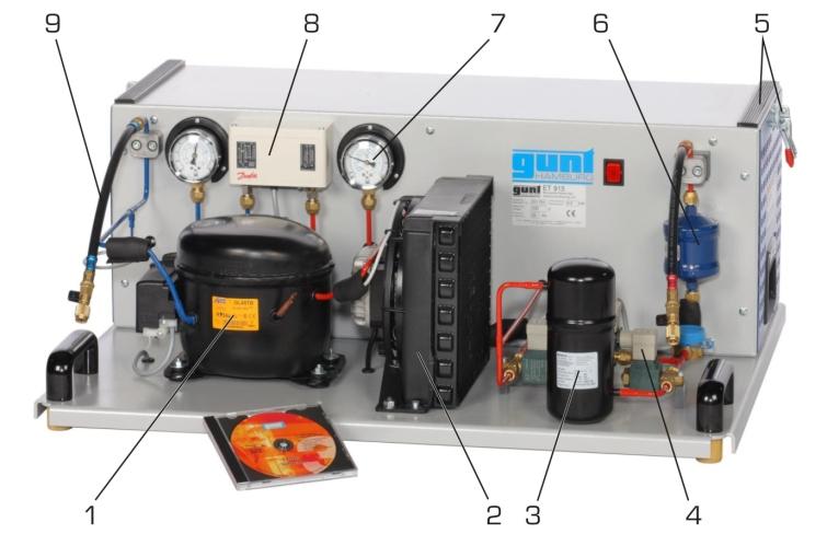 Kühlschrank Verdichter Aufbau : Produkte