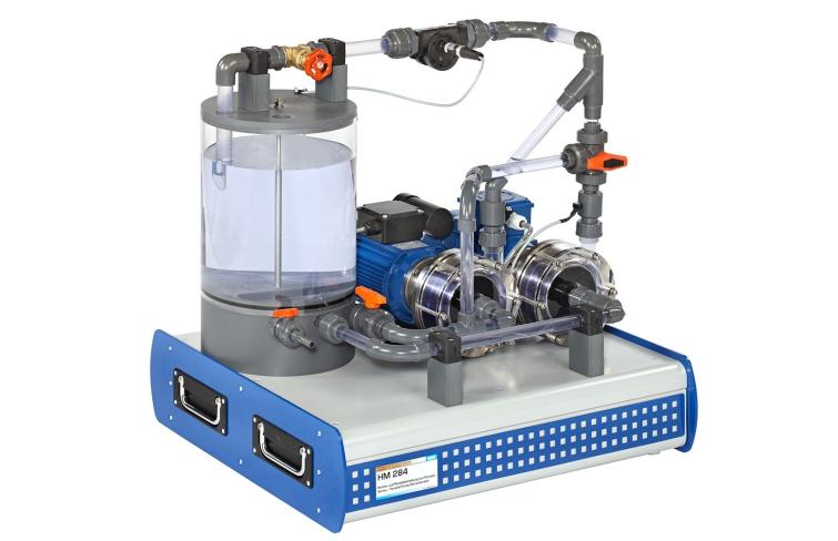 Centrifugal pump experiment